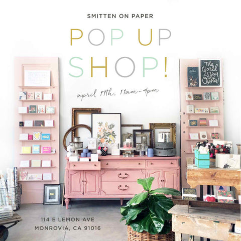 It's Pop Up Shop Time! Yay!