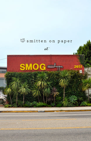 Smitten on Paper at SmogShoppe