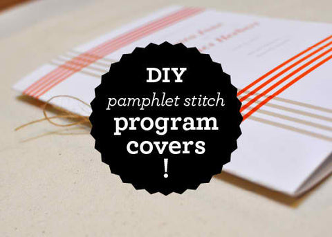 DIY Program Covers!