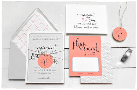 Trellis Wedding Invitation Suite