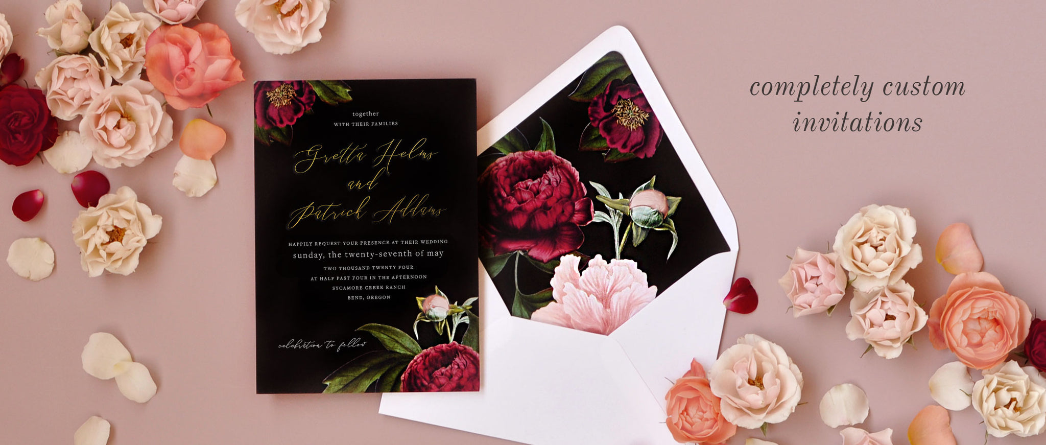 Custom Wedding Invitations and Stationery – Smitten on Paper