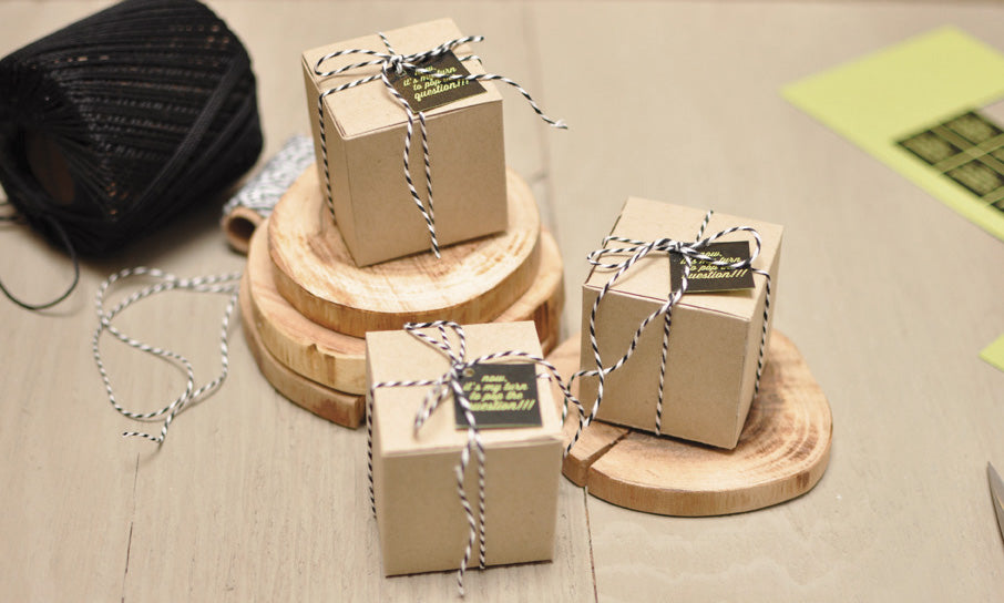 Will You Be My Bridesmaid Favor Boxes!