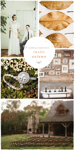 Wedding Inspiration: Rustic Autumn