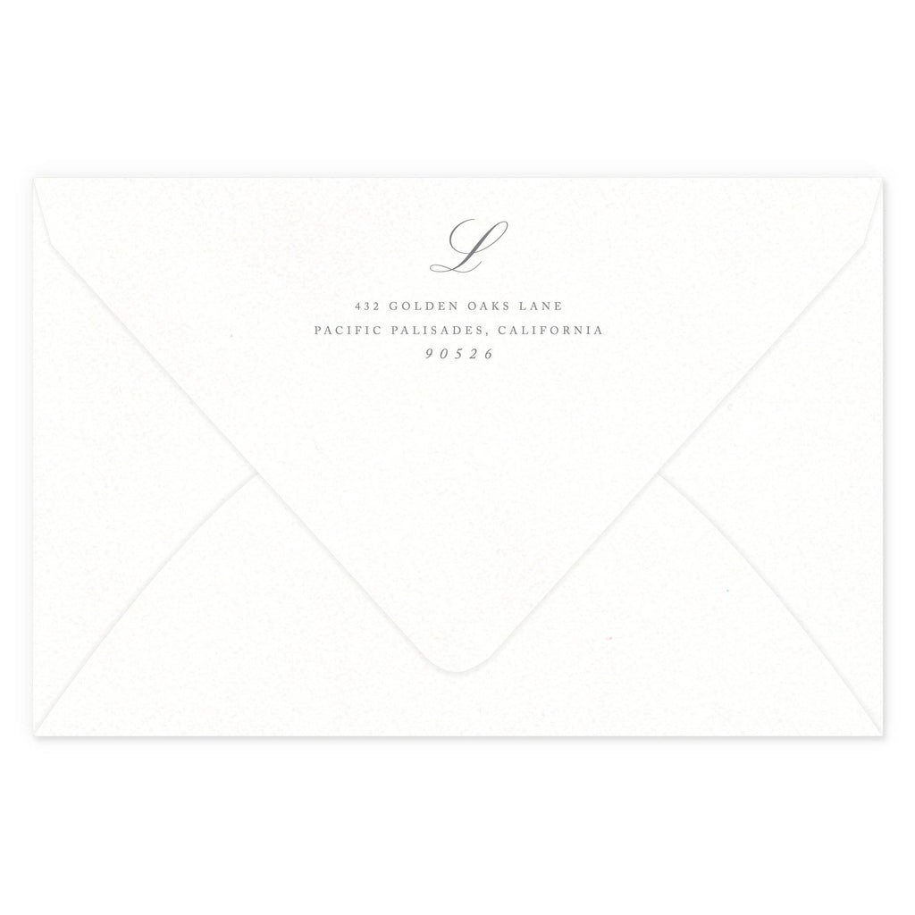 Luxe Return Address