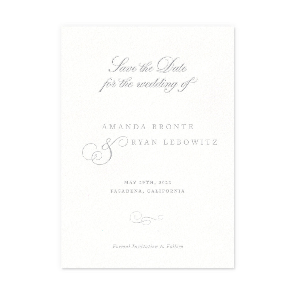 Luxe Save the Dates