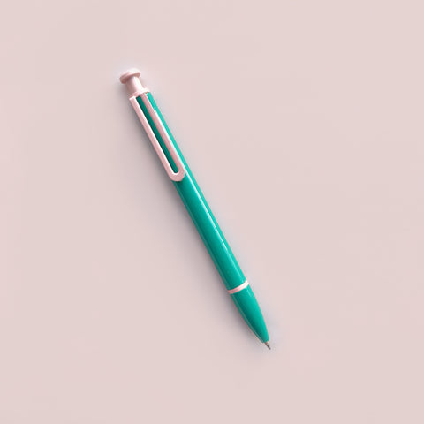 Arc Ballpoint Pen Teal