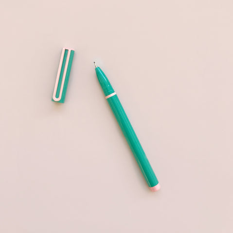 Arc Felt Tip Pen Teal