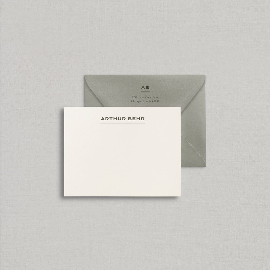 Arthur Personalized Stationery Small