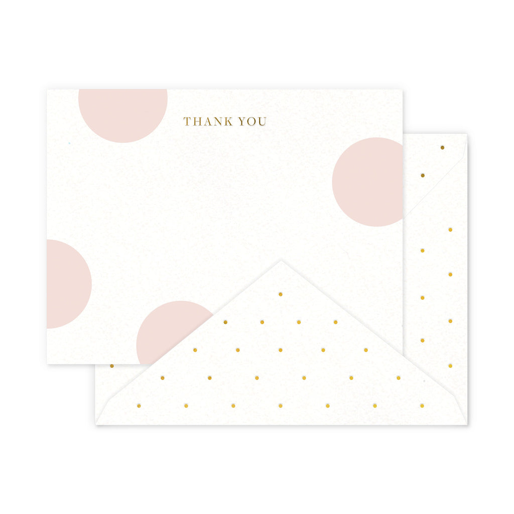 Dots Thank You Boxed Notes