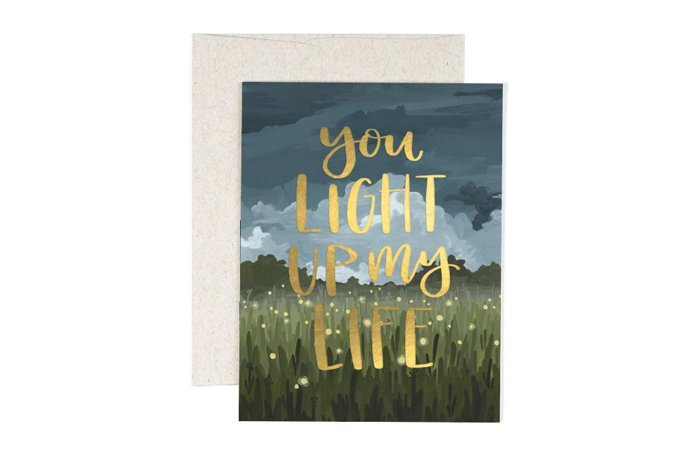 Light Up My Life - Greeting Card