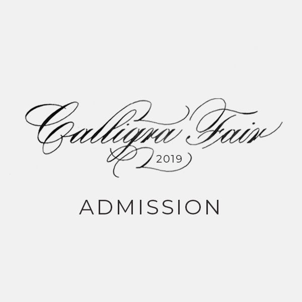 CalligraFair 2019: Early Bird Ticket
