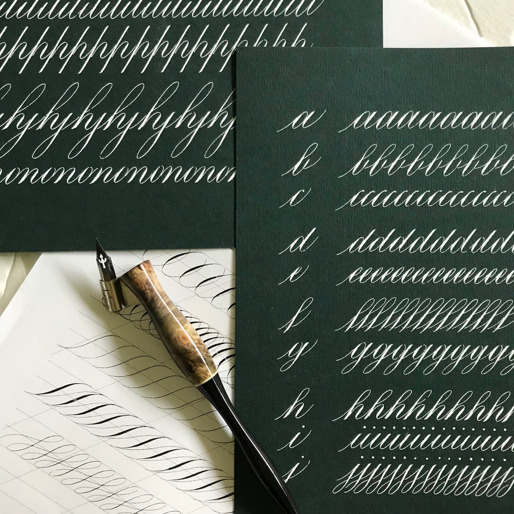 OCTOBER 12TH: Copperplate Bootcamp with Nina Tran