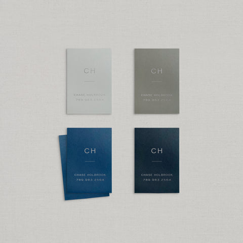 Chase Business Cards Foil