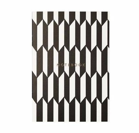 KATIE LEAMON-LUXURY NOTEBOOK (CHEVRON)