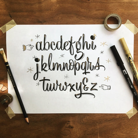 JULY 19th: Retro Brush Lettering