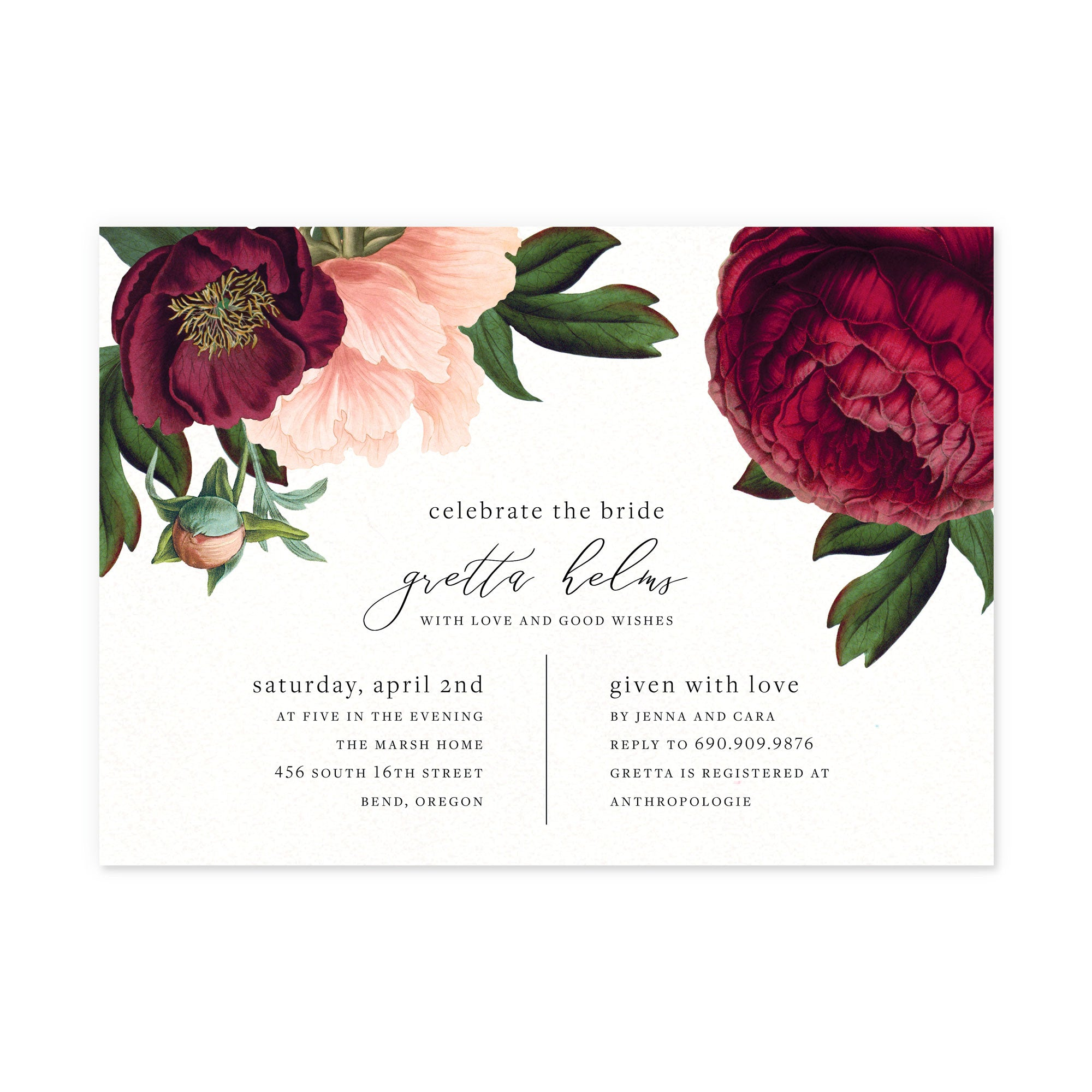 Party Invitations – Smitten on Paper