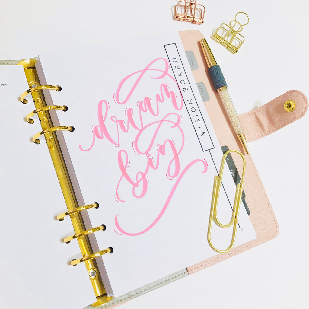 FEBRUARY 8th: Modern Brush Lettering for Beginners with Shelly Kim