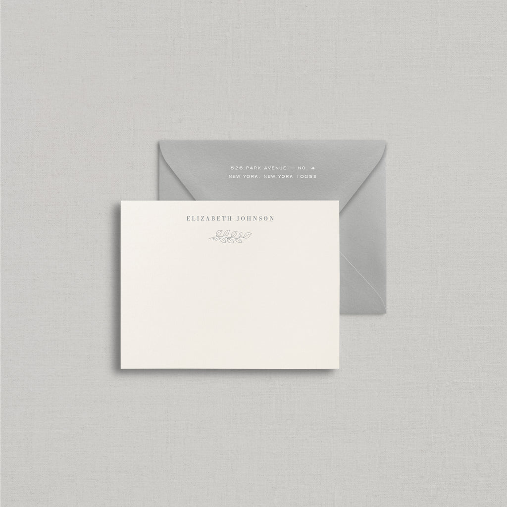 Elizabeth Personalized Stationery Small