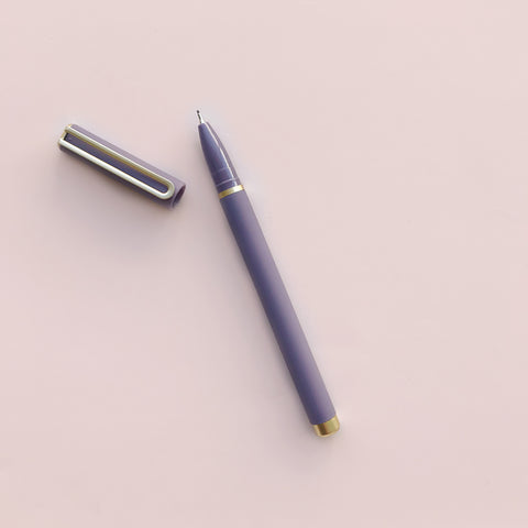 Fleuri Felt Tip Pen Purple