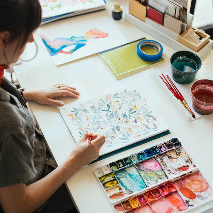 FEBRUARY 22ND: Floral Watercolor with Jenna Rainey