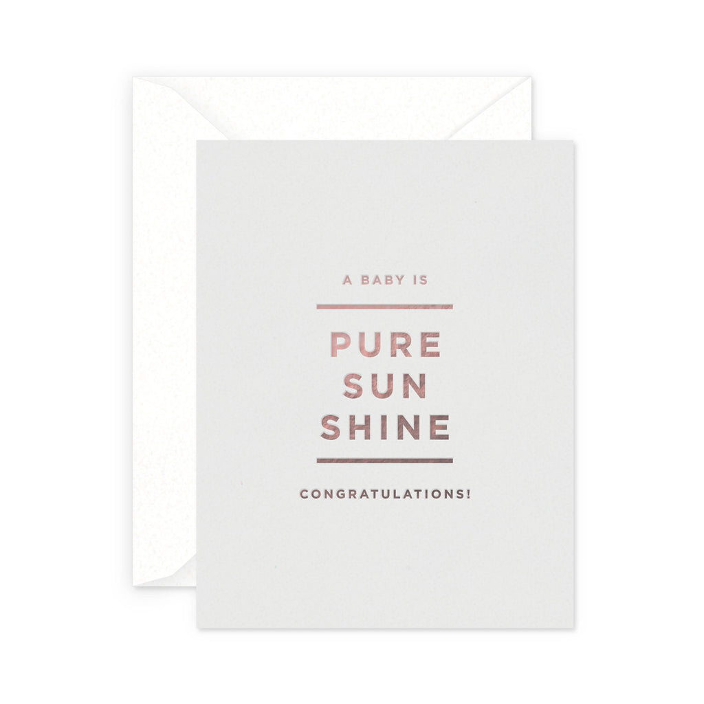Sunshine Baby Greeting Card