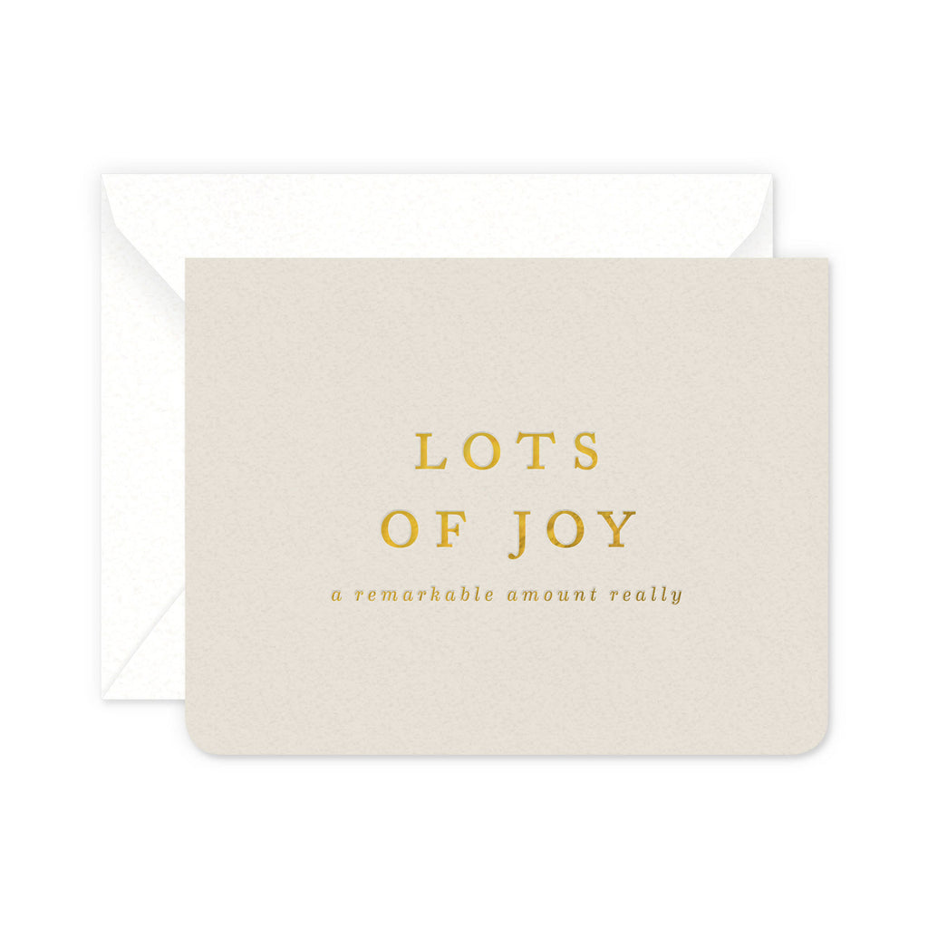 Lots of Joy Greeting Card