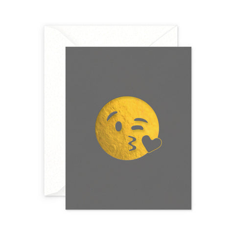 Kissy Face Greeting Card