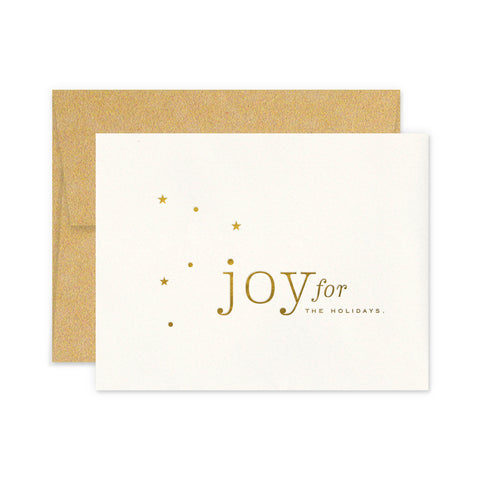 Joy Stars Greeting Card