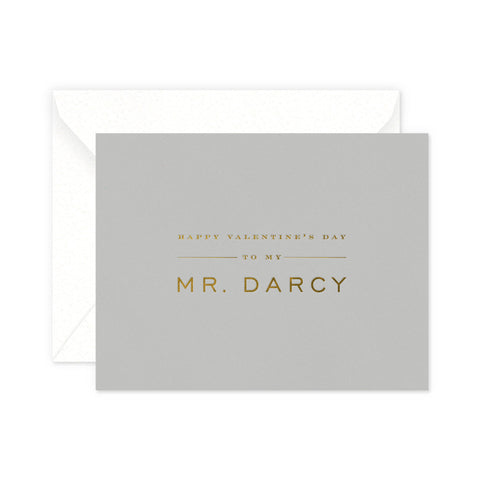 Mr Darcy Greeting Card