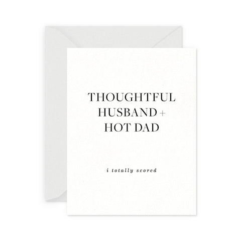 Thoughtful Husband Greeting Card
