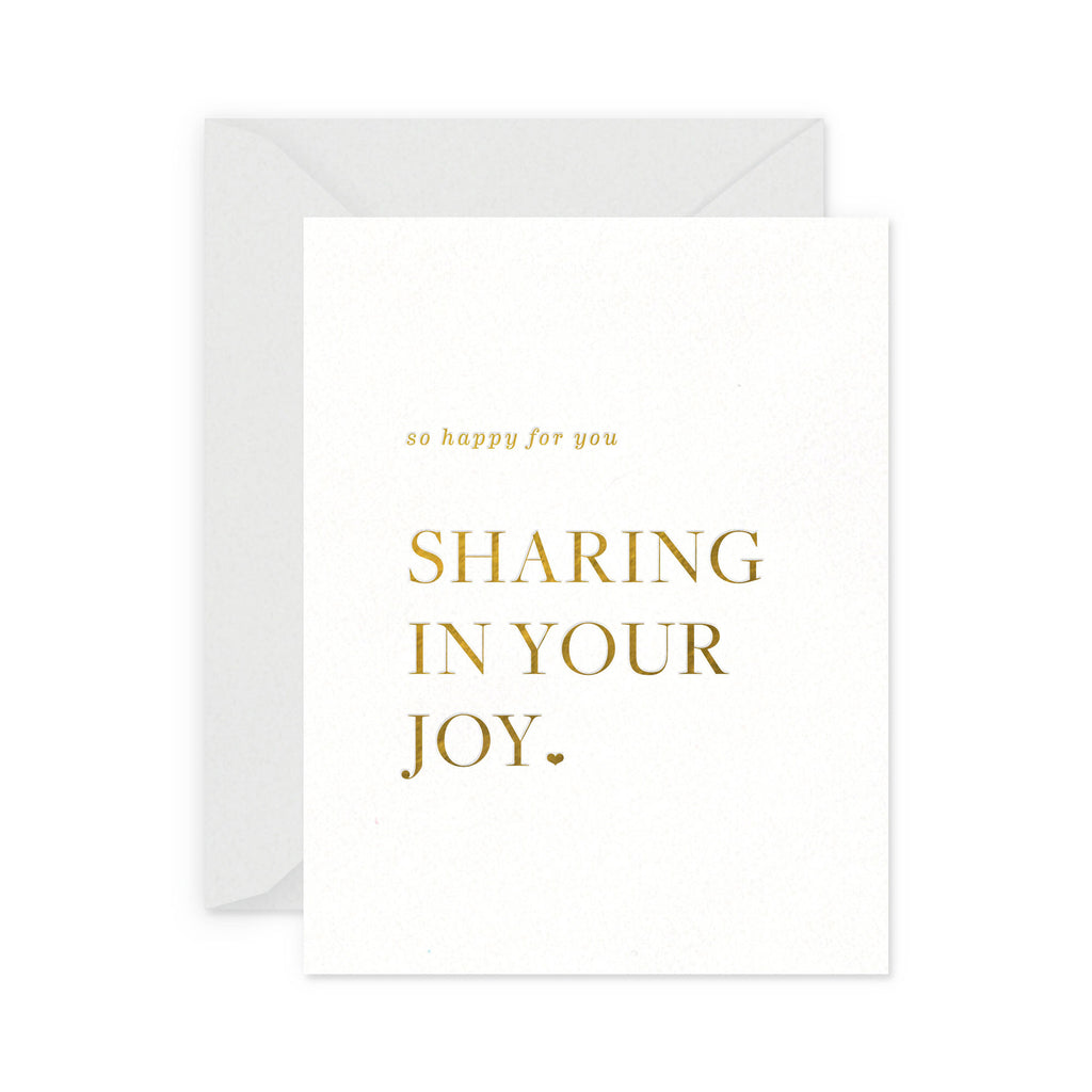 Sharing Your Joy Greeting Card