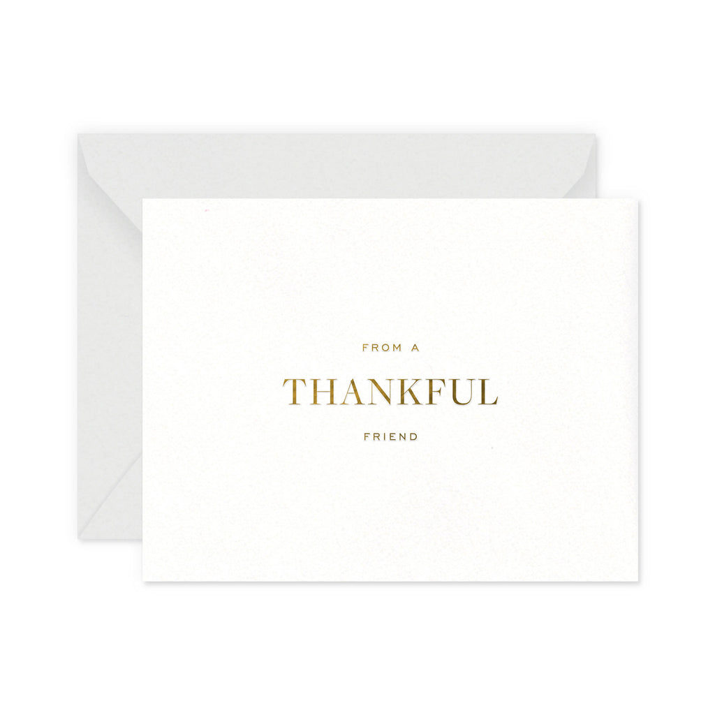 Thankful Friend Greeting Card