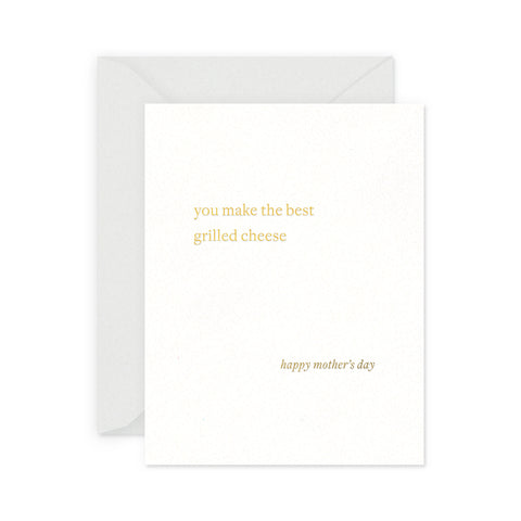 Grilled Cheese Mom Greeting Card
