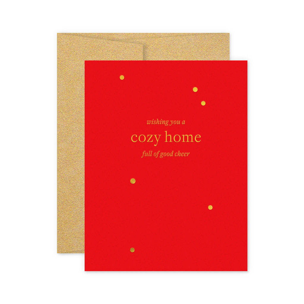 Cozy Home Holiday Greeting Card