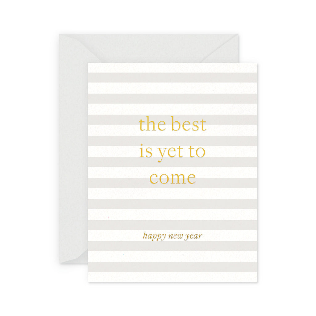 Best is to Come Holiday Greeting Card