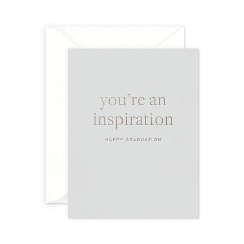 Inspiration Graduation Greeting Card