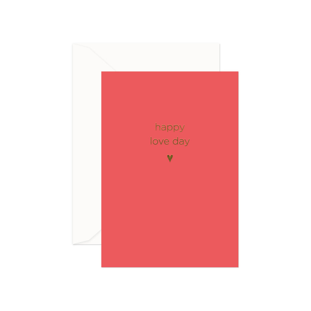 Happy Love Day Greeting Card