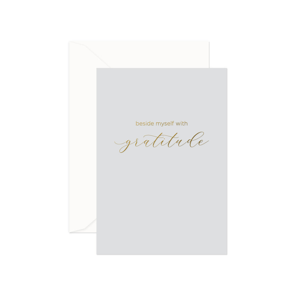 Simple Gratitude Greeting Card