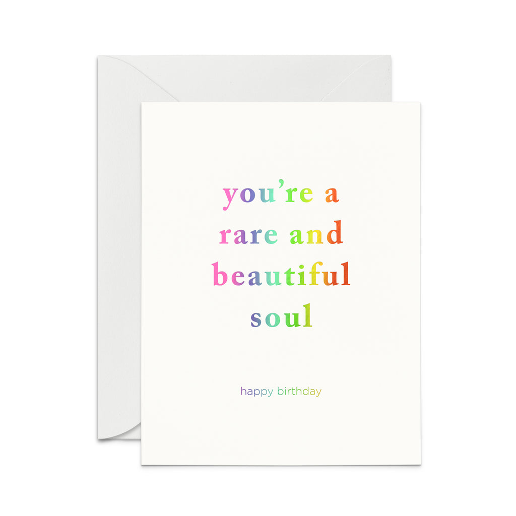 Rare and Beautiful Birthday Greeting Card