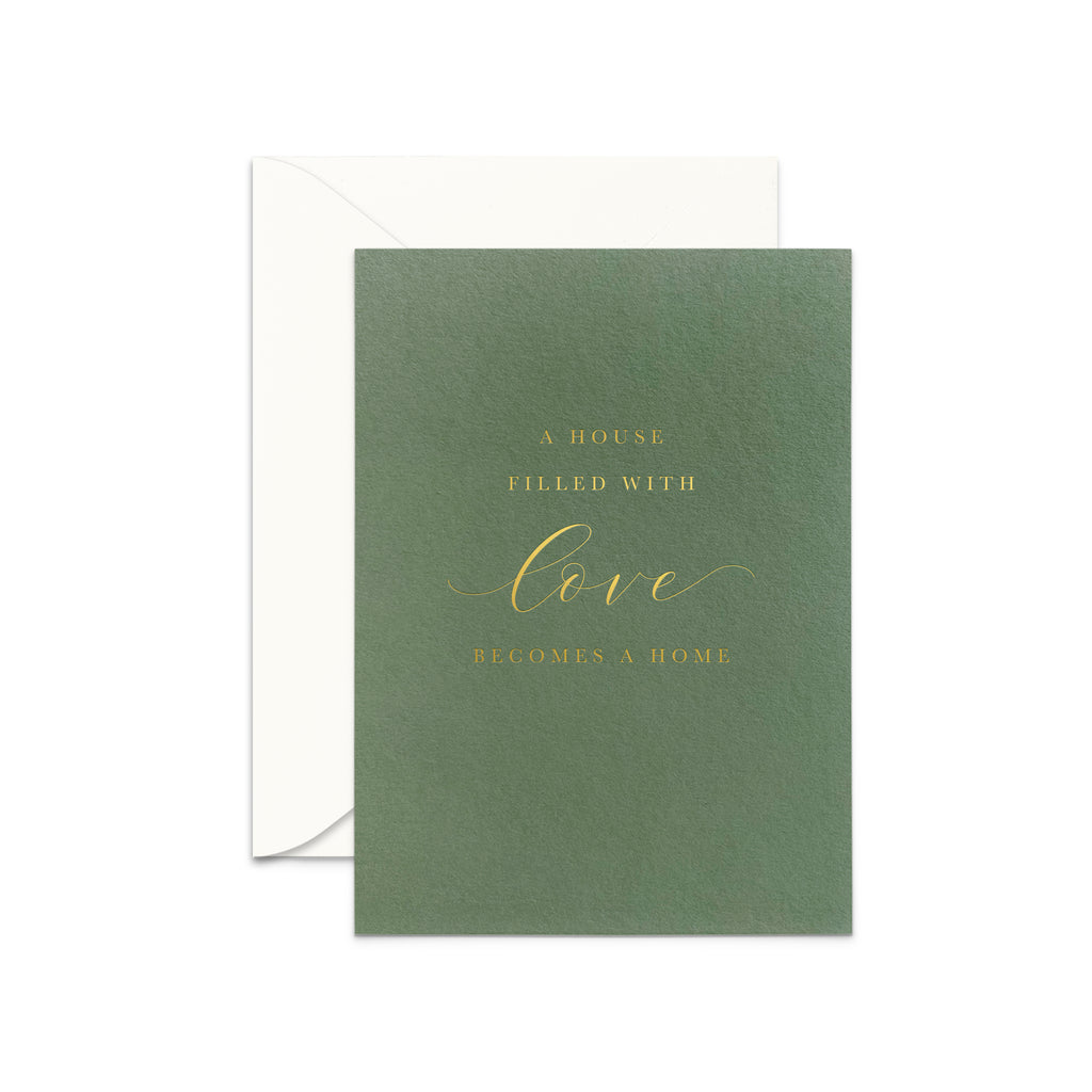 House of Love Greeting Card