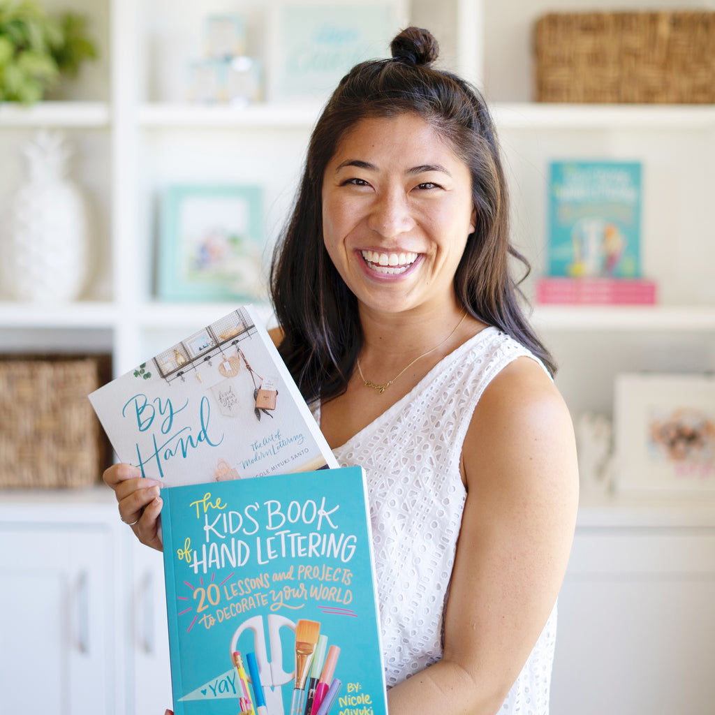 October 17: Hand Lettering for Kids with Nicole Miyuki