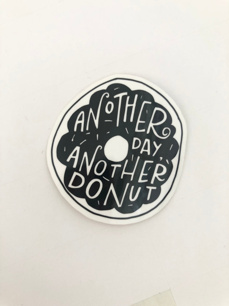 Another Day Another Donut Sticker