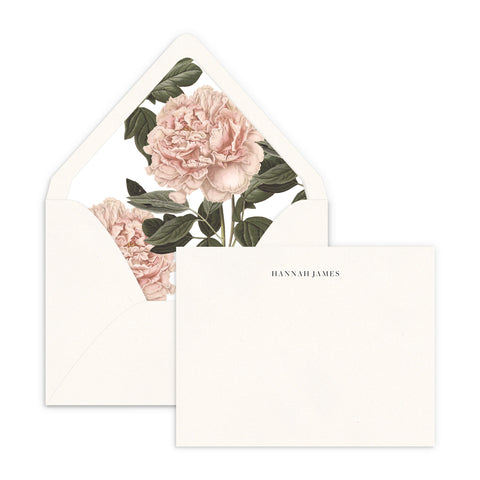 Blush Blooms Luxe Lined Note Set