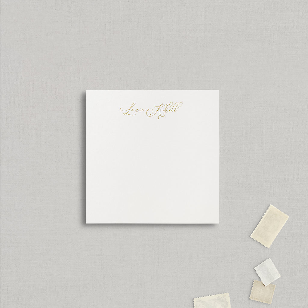 Lanie Personalized Stationery Large
