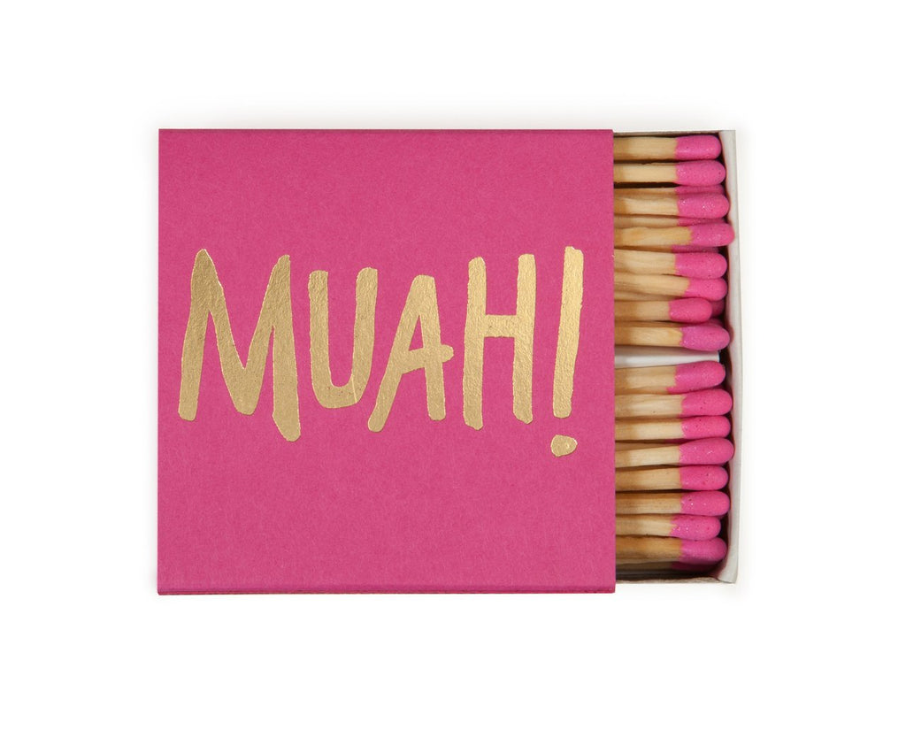 THE SOCIAL TYPE- MUAH! MATCHES (PINK)
