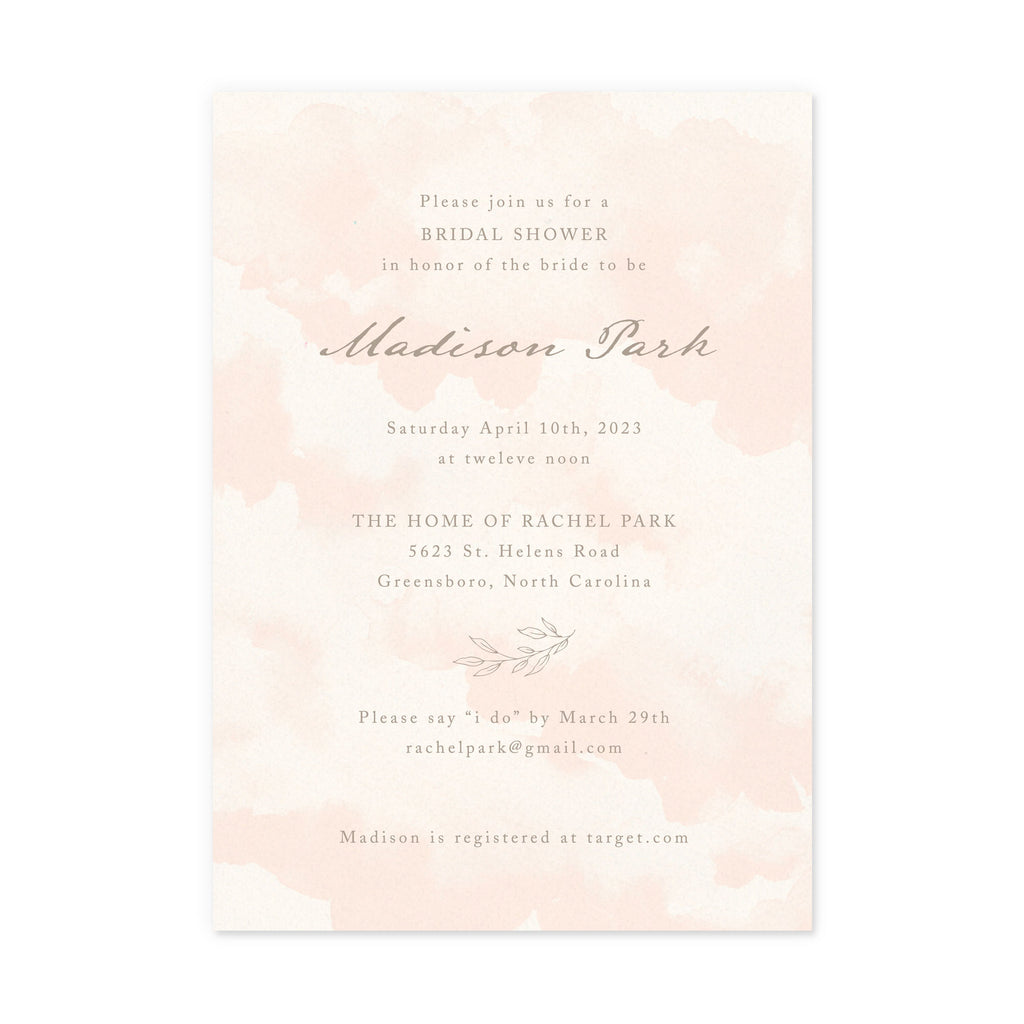 Luxe Party Invitations