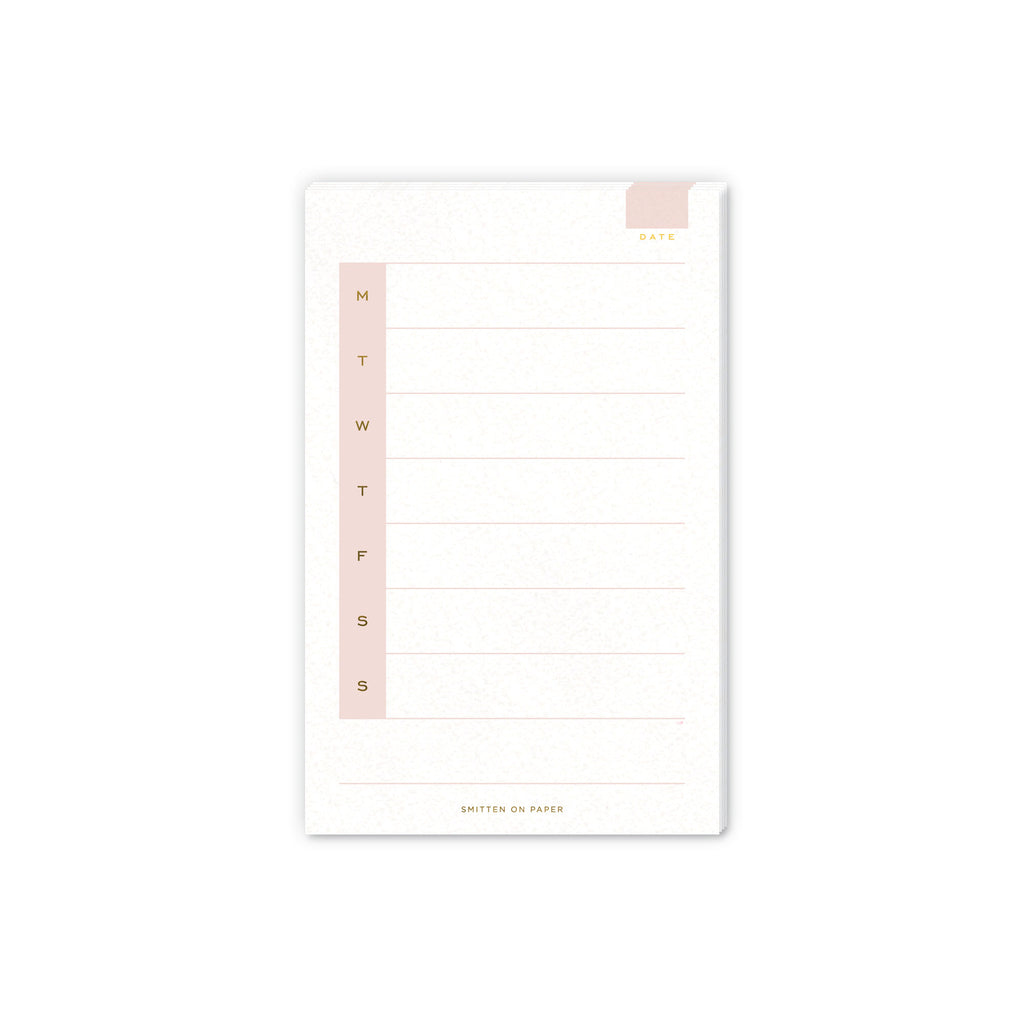 Weekly Medium Notepad
