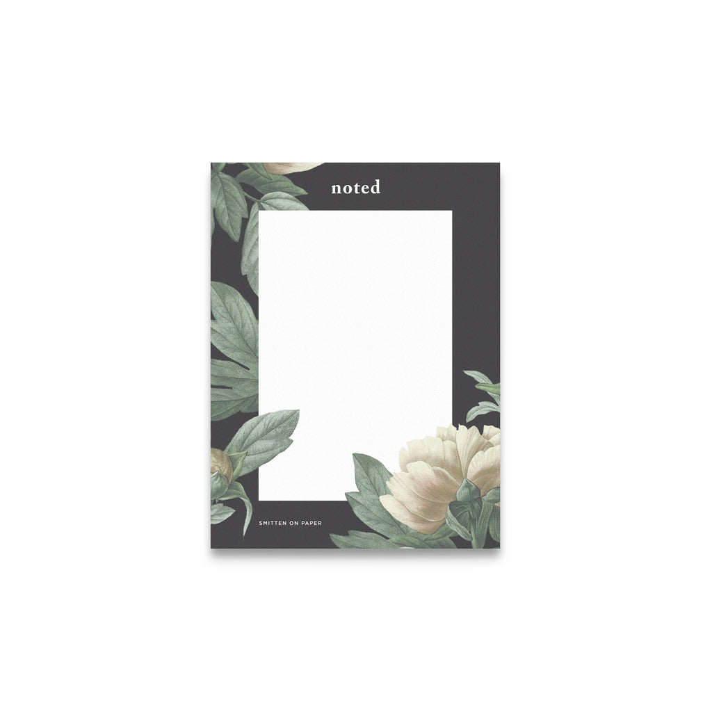 Classic Floral Notepad