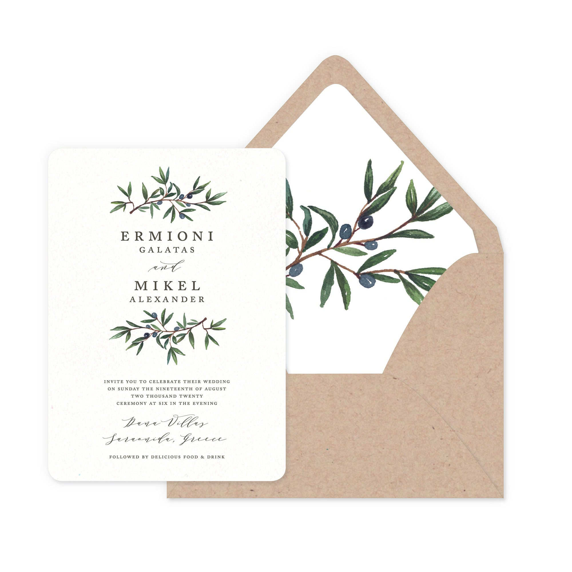 693753527ec Olive Branch – Smitten on Paper