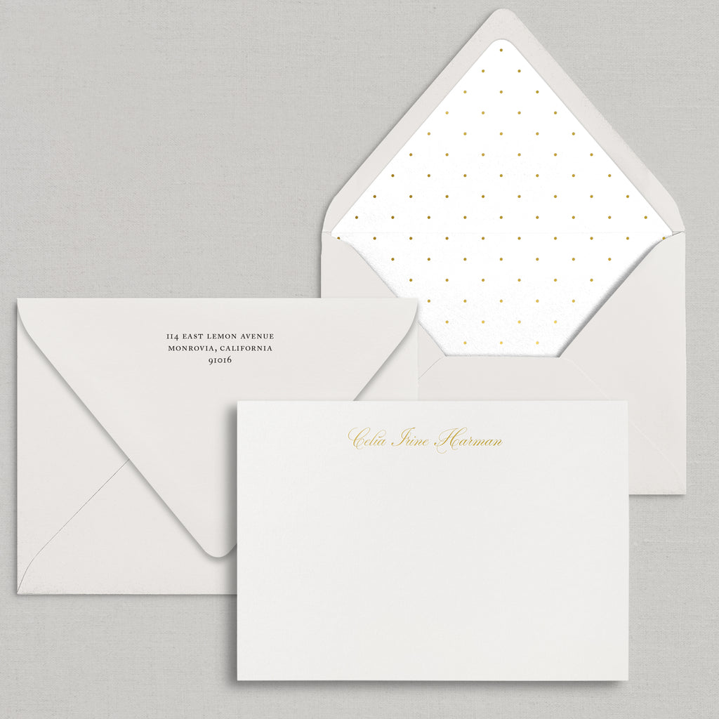 Semi Custom Stationery (see photos for options)